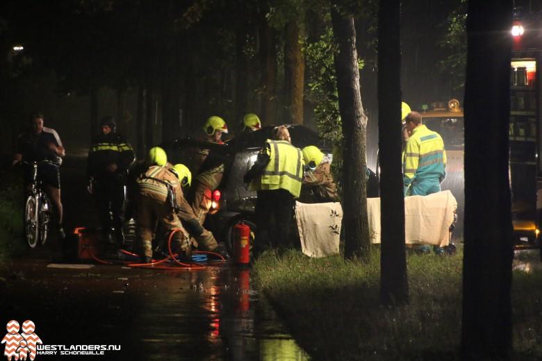Zwaar gewonde bij ernstig ongeluk Haakweg