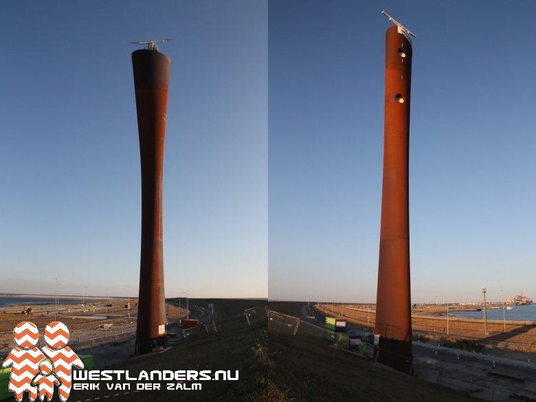 Radartoren op Tweede Maasvlakte in gebruik genomen