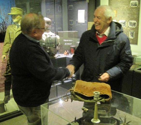 Claxon Seyss-Inquart naar Atlantikwall-Museum