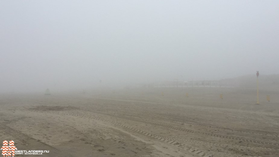 Zeemist bederft strandpret in Nederland