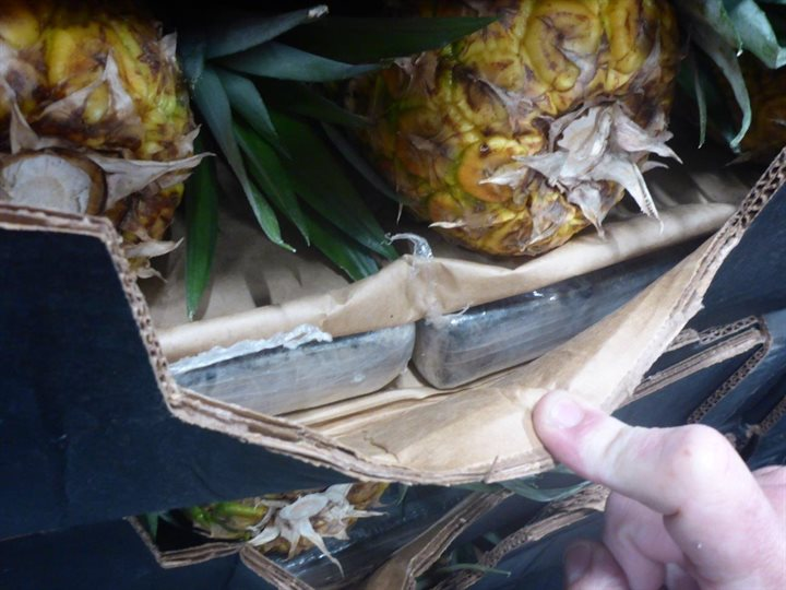 Zes aanhoudingen voor invoer 150 kilo cocaïne