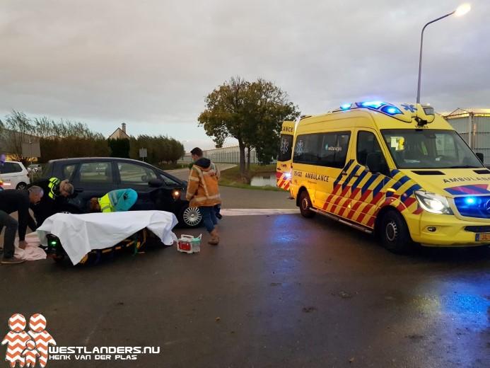 Scooterrijder ernstig gewond bij ongeluk Zwethlaan