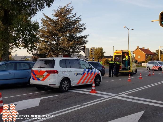 Poolse fietser gewond na valpartij