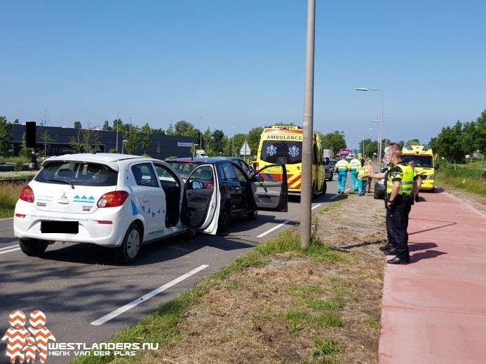 Twee gewonden bij ongeluk Middel Broekweg