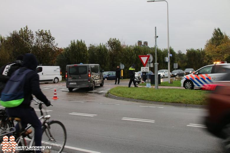 Scooter aangereden bij Harteveldlaan