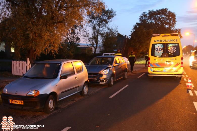 Automobiliste gewond bij ongeluk Middel Broekweg