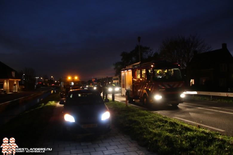 Ongeluk aan de Burgemeester Elsenweg