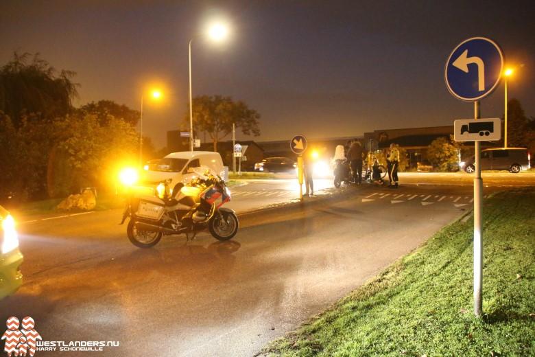 Licht gewonde bij ongeluk Harteveldlaan