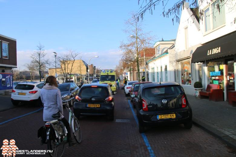Fietsster gewond bij ongeluk Dijkstraat