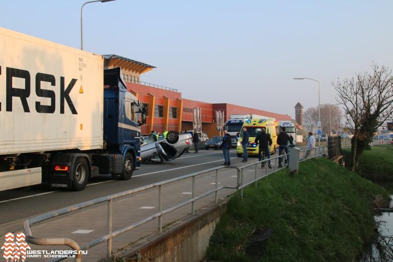 Verkeerschaos na ongeluk Nieuweweg
