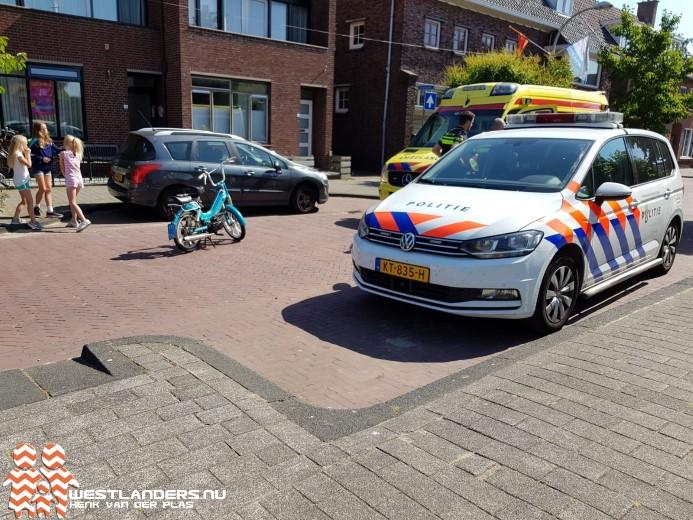 Brommerrijders gewond na omvallen afzethek