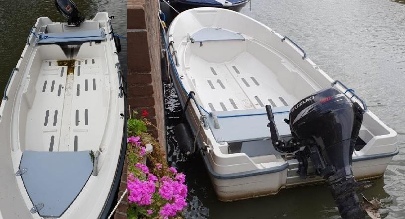 Politie doet onderzoek naar bootdieven