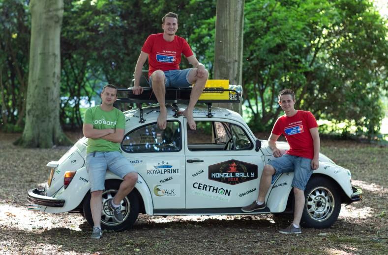 Team Cousins Crossing Countries naar Mongolië voor goede doel