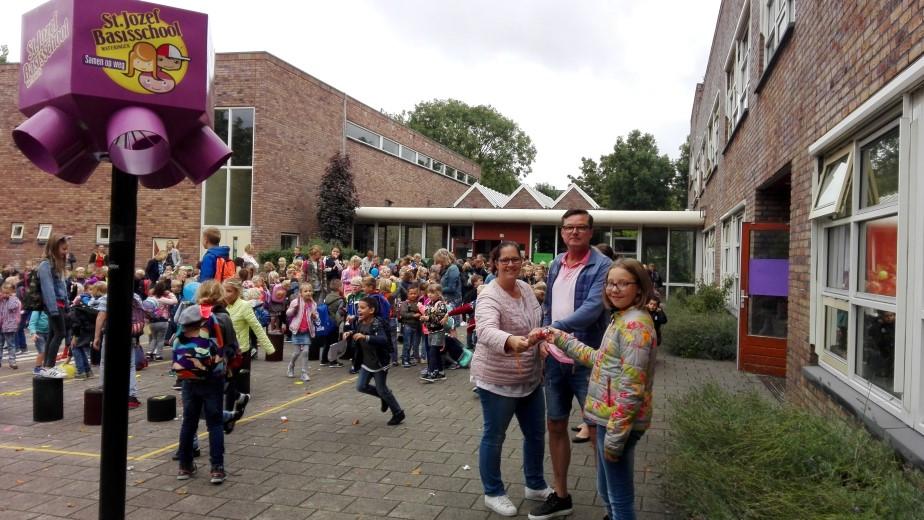 Alternatieve estafette-staking WSKO St. Jozefbasisschool