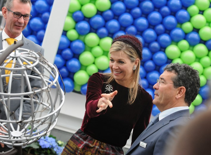 World Horti Center geopend door Koningin Máxima