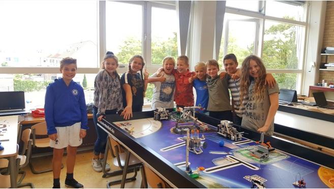 Hoeks Future lab deelnemer aan FLL op 15 december