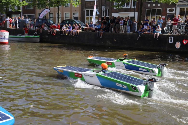 Young Solar Westland vaart laatste wedstrijd in Leeuwarden