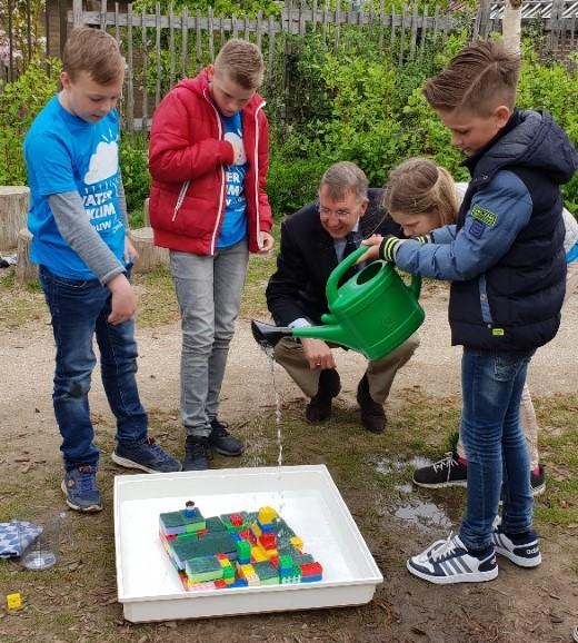 Spettende start lespakket 'Water & Klimaat in jouw straat'