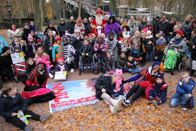 Groot Sinterklaasfeest voor zeldzaam zieke kinderen