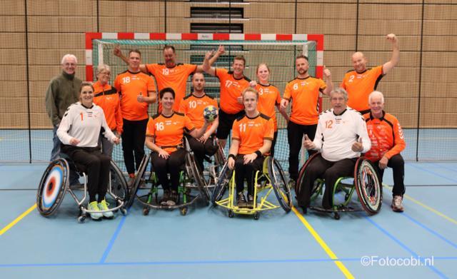 Rolstoelhandballers op jacht naar de 3e EK-titel in Portugal