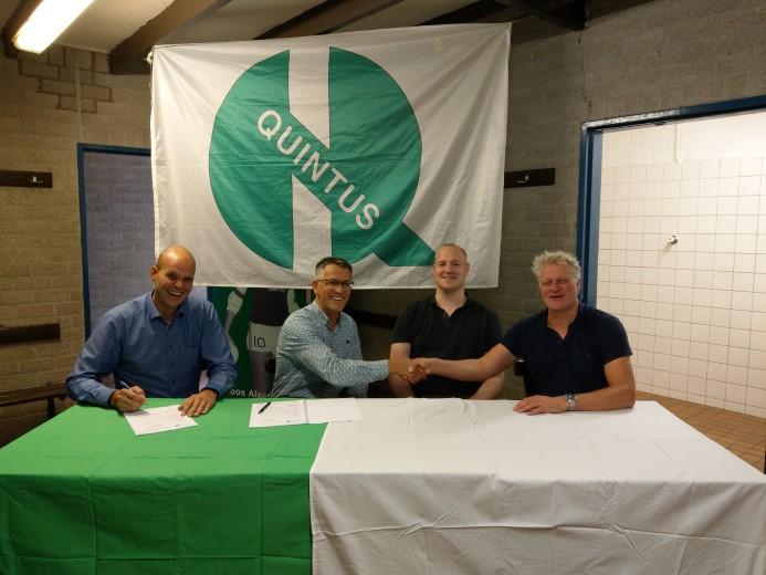 Renovatie kleedkamers Quintus start oktober 2018
