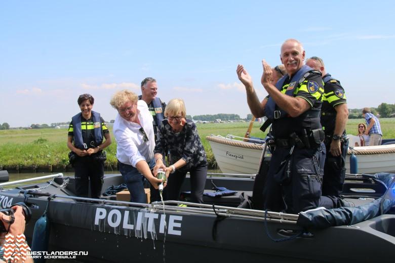 Nieuw politievaartuig voor Westland en Midden-Delfland