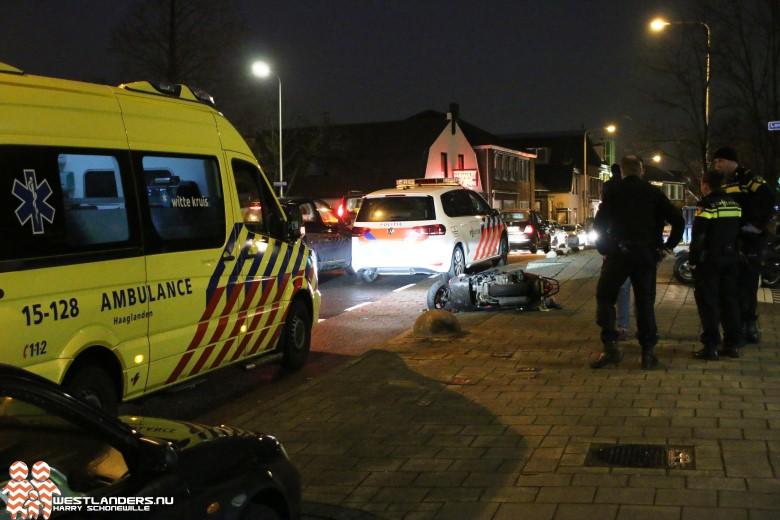 Gewonde bij ongeluk Kerkstraat