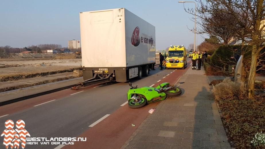 Motorrijder ernstig gewond bij ongeluk Groenepad
