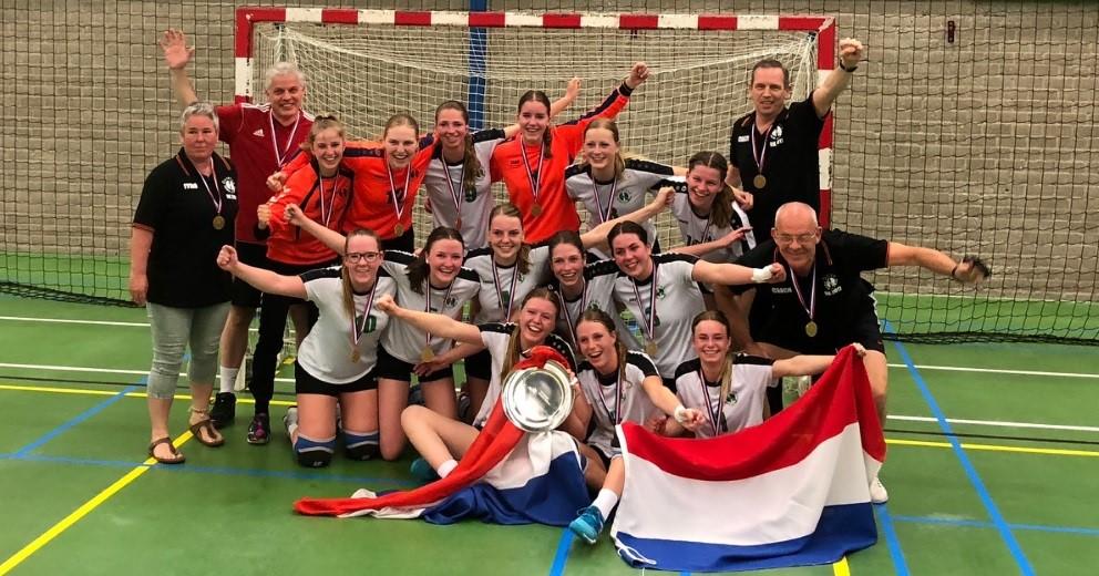 Quintus Handbal A1 dames Nederlands kampioen!