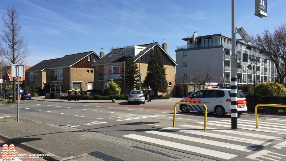 Fietsster gewond na ongeluk bij Kerkstraat