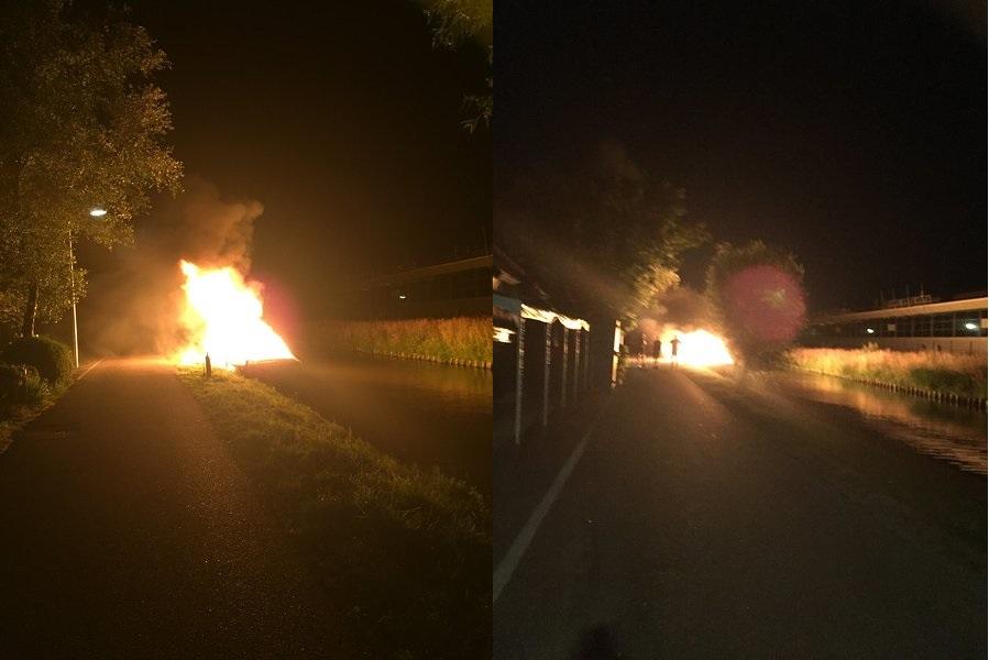 Drie brandstichtingen in de regio