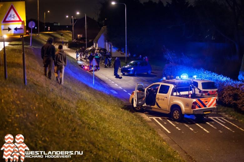 Scooterrijder gewond bij ongeluk Maasdijk