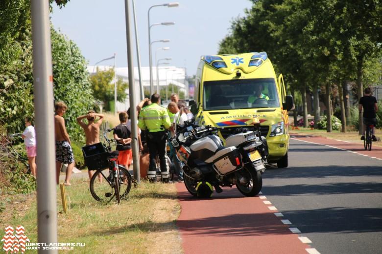 Ongeluk kind/vrachtwagen loopt met een sisser af