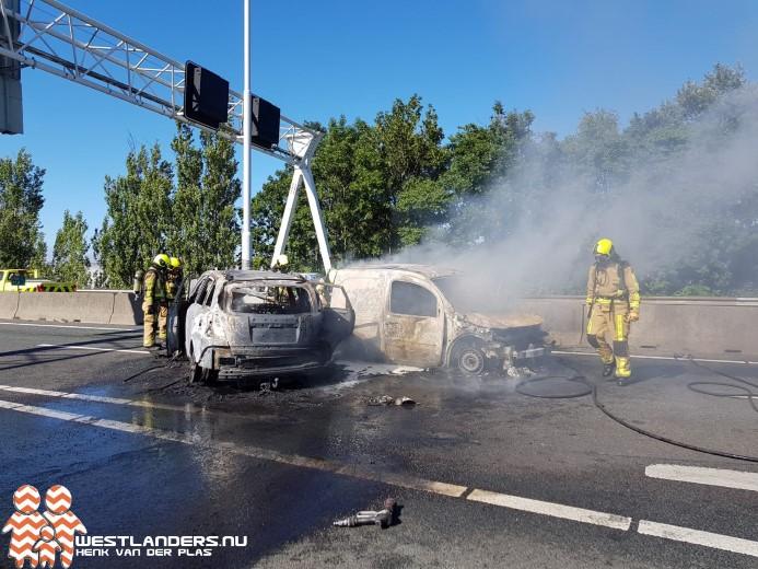 Drie gewonden bij zwaar ongeluk op de A20