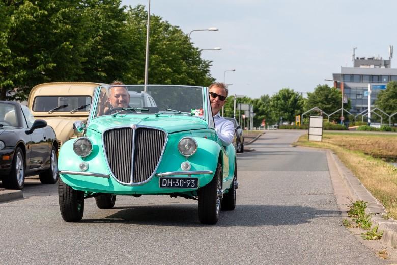 Rotary rijdt € 6.850,- voor 'kinderen in de knel'