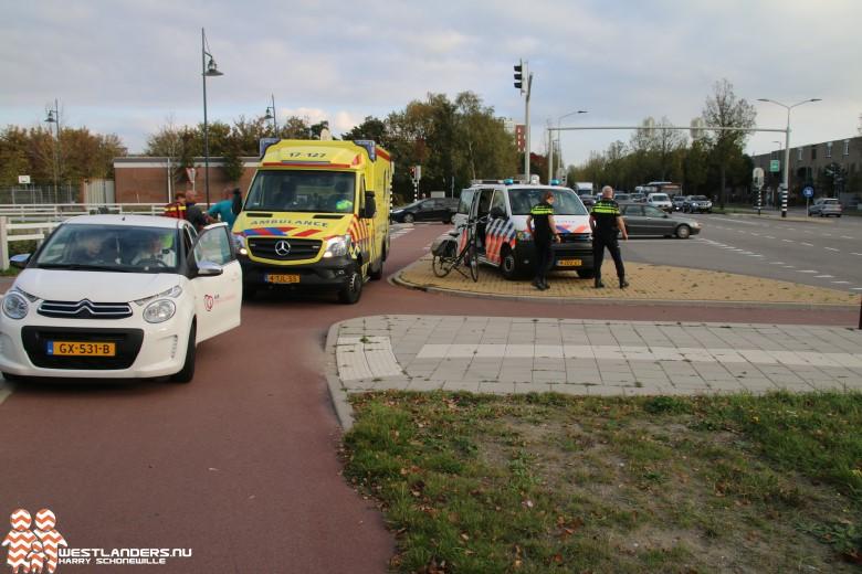 Traumahelikopter inzet voor gewonde fietser