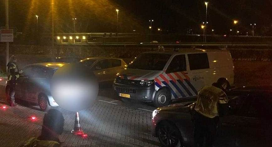 Alcoholcontrole in Schipluiden