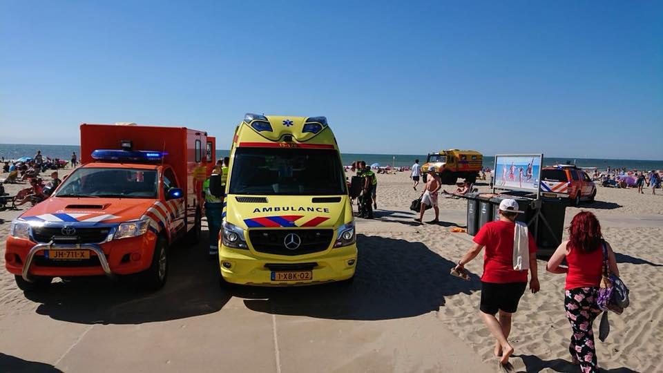 Wederom reanimatie bij strand Ter Heijde