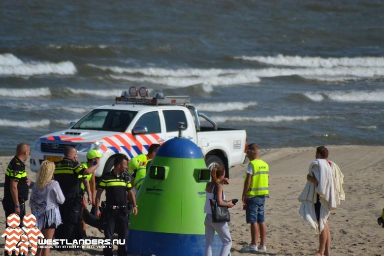Medische noodsituatie op het strand