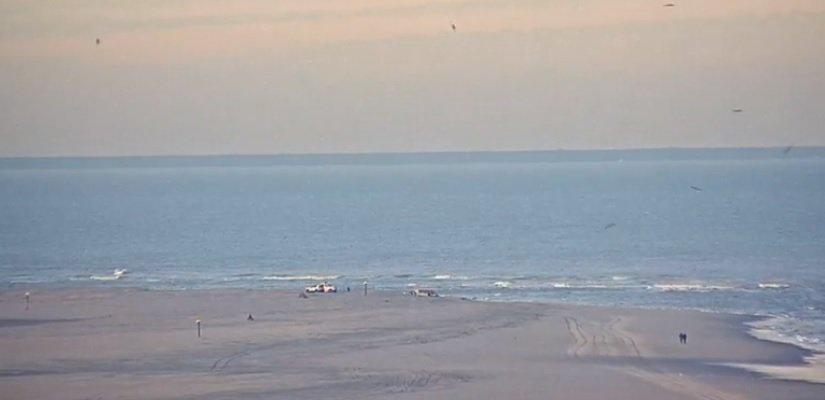 Vermiste zwemmer gevonden op de Zandmotor