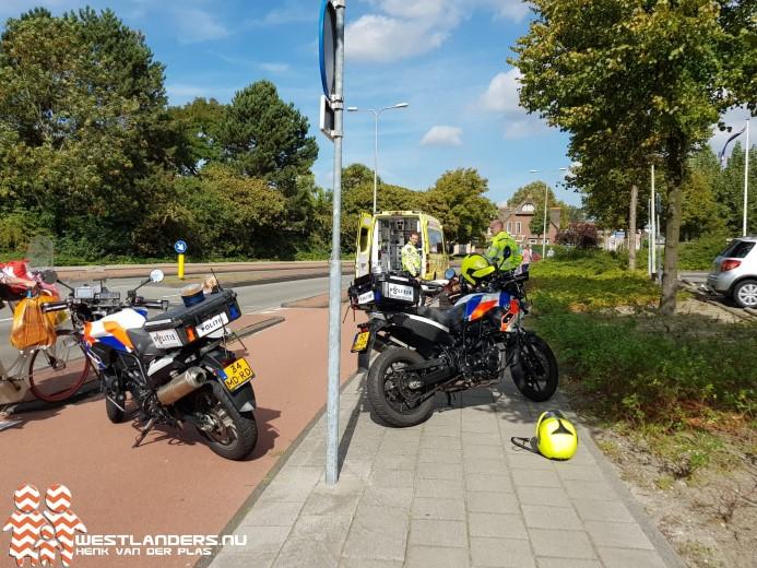 Fietsster gewond na ongeluk Secretaris Verhoeffweg