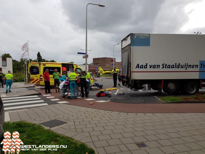 Ernstig ongeluk bij de Middel Broekweg