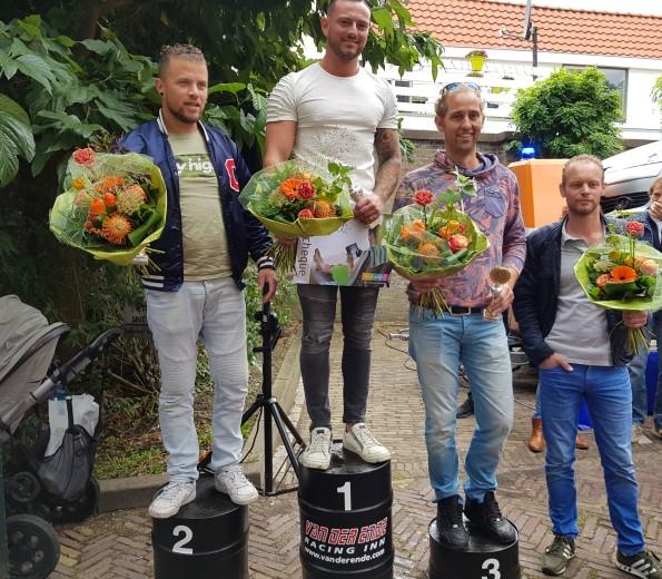 Guy Bekkenkamp winnaar van WK Bandenwissel