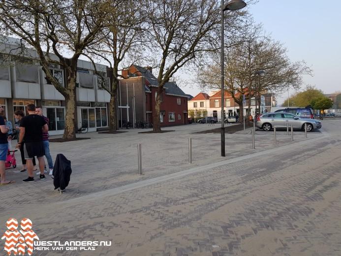 Havenplein Naaldwijk vrijdag heropend