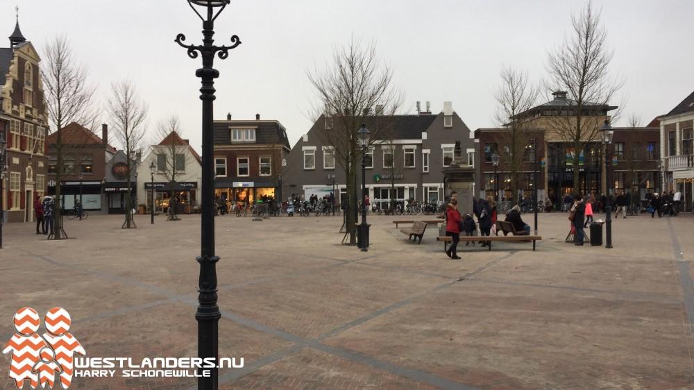 Collegevragen inzake ontwikkelingen centrum Naaldwijk