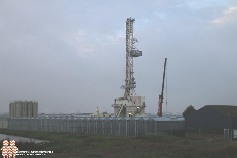 Tweede put Trias Westland gereed, toren verdwijnt uit Naaldwijk
