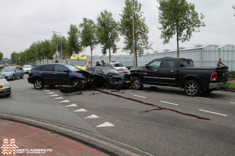 Gewonde bij ongeluk Bosweg