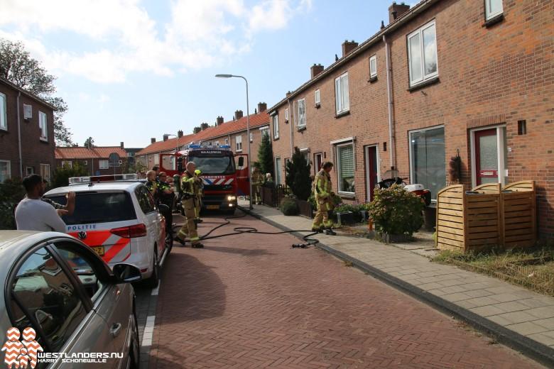 Voertuigbrand aan de Gerrit van Heemskerkstraat