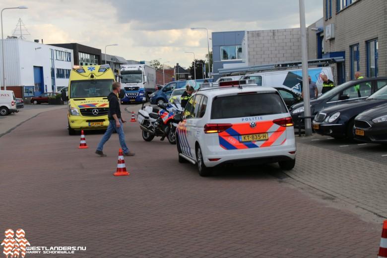 Twee ongelukken aan de Industriestraat