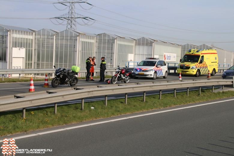Motorrijder gewond na ongeluk op N213
